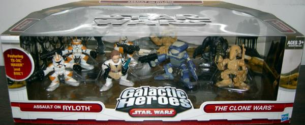 Assault Ryloth Figures 8-Pack Galactic Heroes Star Wars