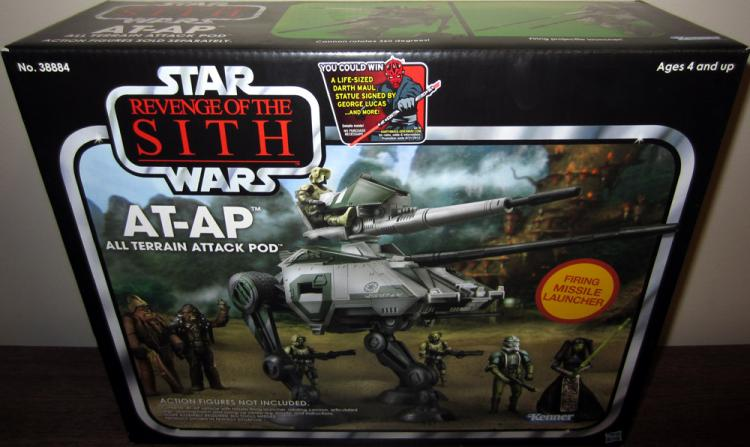 AT-AP All Terrain Attack Pod Star Wars Revenge Sith Vintage Collection