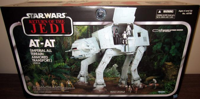 AT-AT Vehicle Imperial All Terrain Armored Transport Toys R Us Exclusive