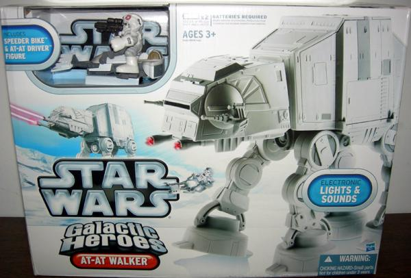 AT-AT Walker Vehicle Galactic Heroes Star Wars Hasbro