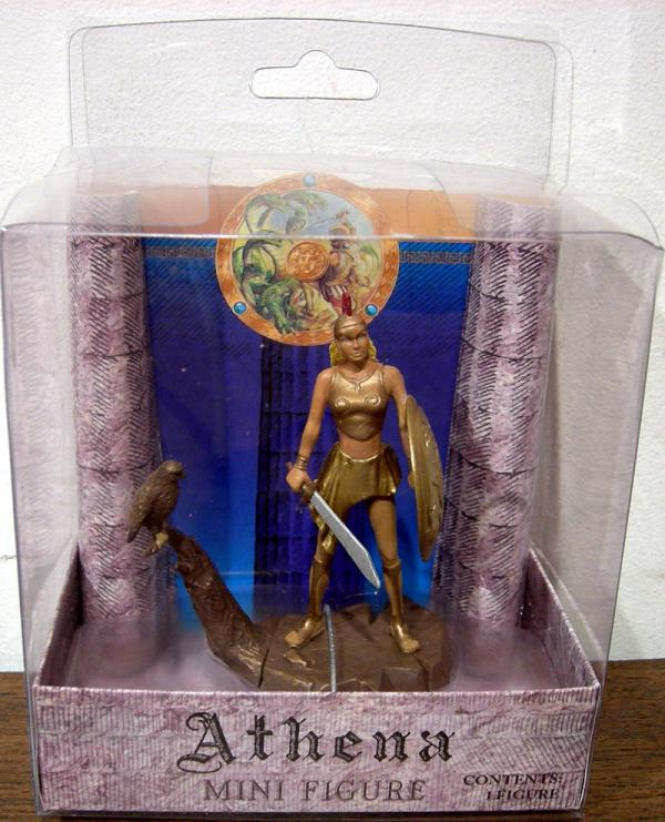 Athena Mini Action Figure Mythology Sababa Toys
