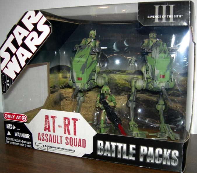 AT-RT Assault Squad Battle Packs Star Wars Target Exclusive