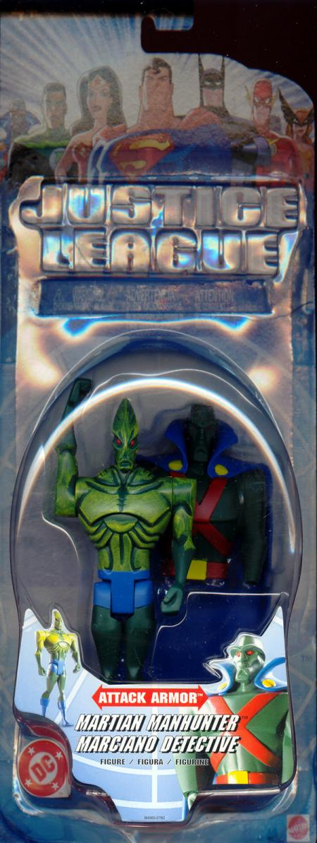 Martian Manhunter Justice League Attack Armor action figure
