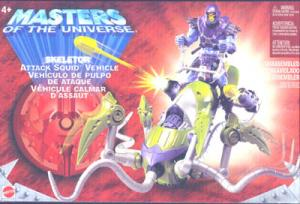 Skeletor Attack Squid Vehicle Masters Universe action figure