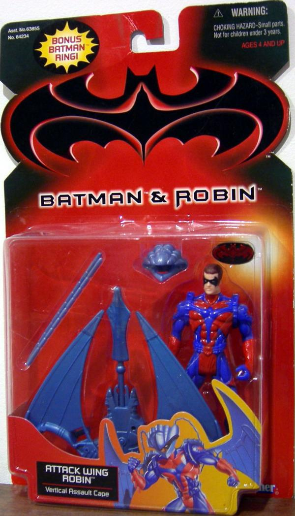 Attack Wing Robin, Batman Robin, bonus Batman ring