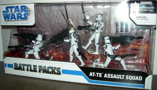 AT-TE Assault Squad, Clone Wars