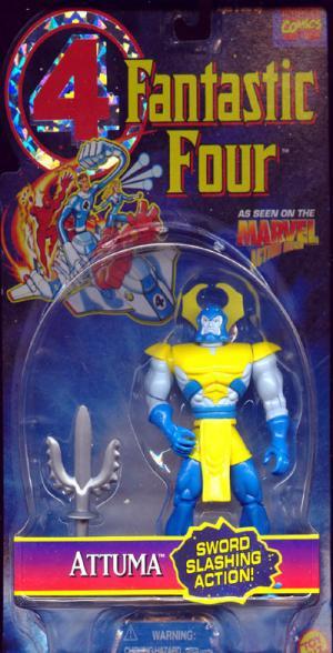 Attuma Fantastic Four action figure