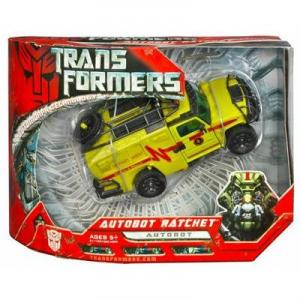 Autobot Ratchet Figure Transformers Movie Voyager