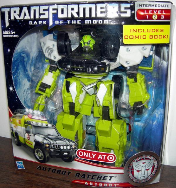 Autobot Ratchet Figure Target Exclusive Dark Moon