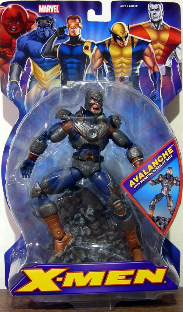 Avalanche X-Men Action Figure Vibrating Rockslide Base