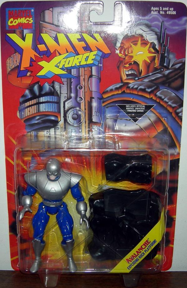 Avalanche Exploding Rock Platform X-Men X-Force action figure