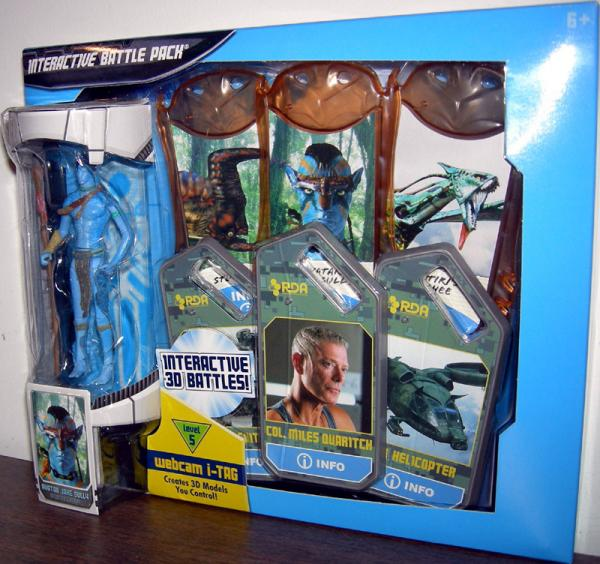 Avatar Jake Sully, Interactive Battle Pack