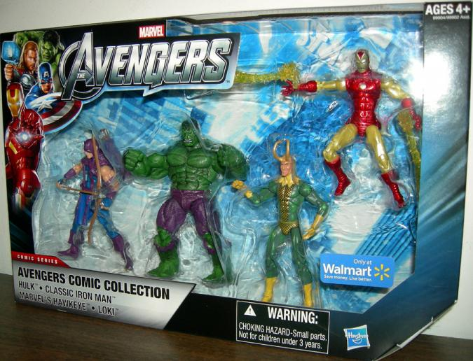 Avengers Comic Collection 4-Pack, 02, Walmart Exclusive