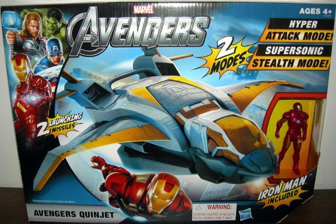 Avengers Quinjet, Avengers