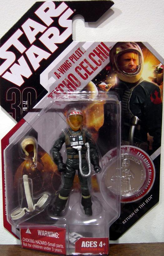 Tycho Celchu A-wing Pilot 30th Anniversary No 44 Star Wars action figure