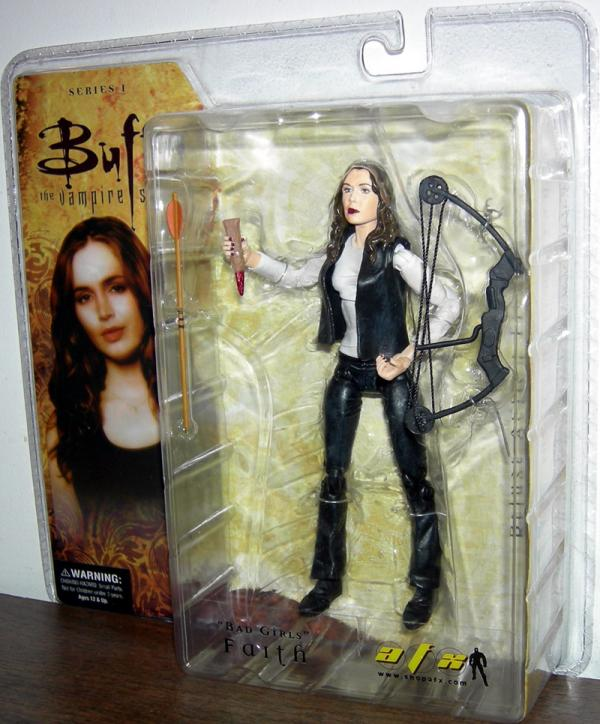 Bad Girls Faith Action Figure Buffy Vampire Slayer Diamond Select