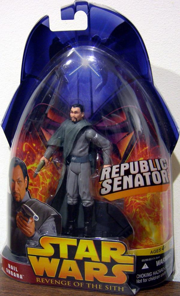 Bail Organa Action Figure Revenge of the Sith 15 Star Wars