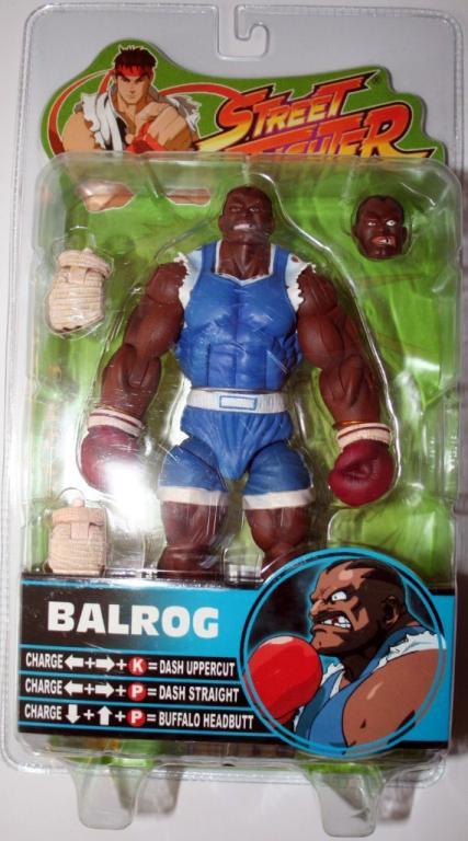 Balrog Street Fighter Round 3 blue variant action figure