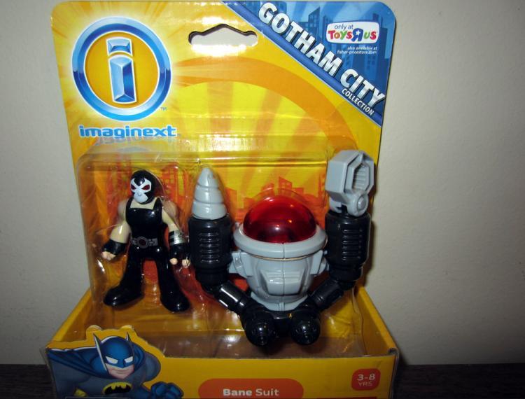 Bane Suit Batman Gotham City Collection actin figure
