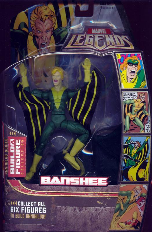 Banshee Marvel Legends