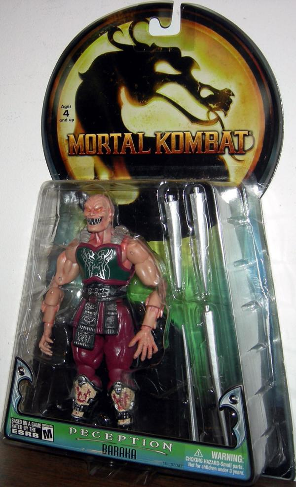 Baraka Deception Mortal Kombat action figure