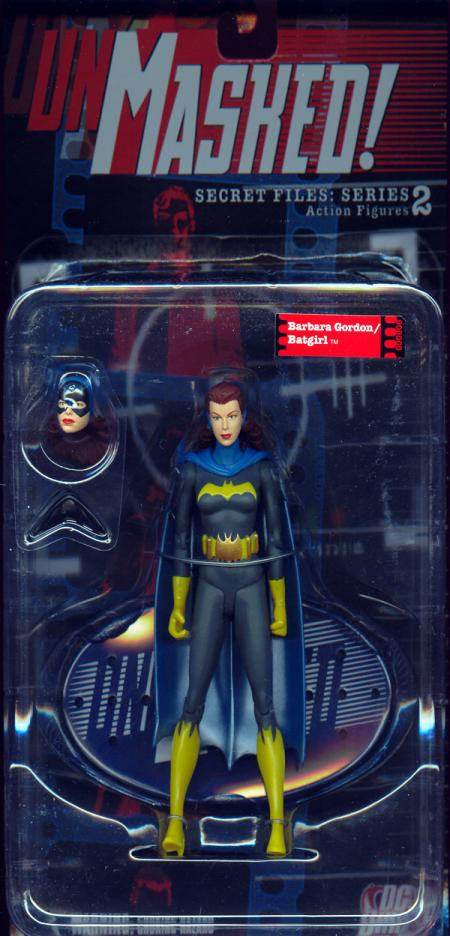Barbara Gordon  Batgirl Secret Files- Unmasked!- Series 2
