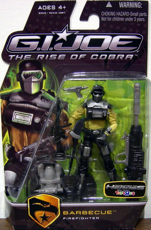 Barbecue Rise Cobra Toys R Us exclusive action figure