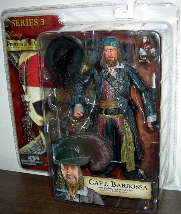 Capt Barbossa Curse Black Pearl, series 3
