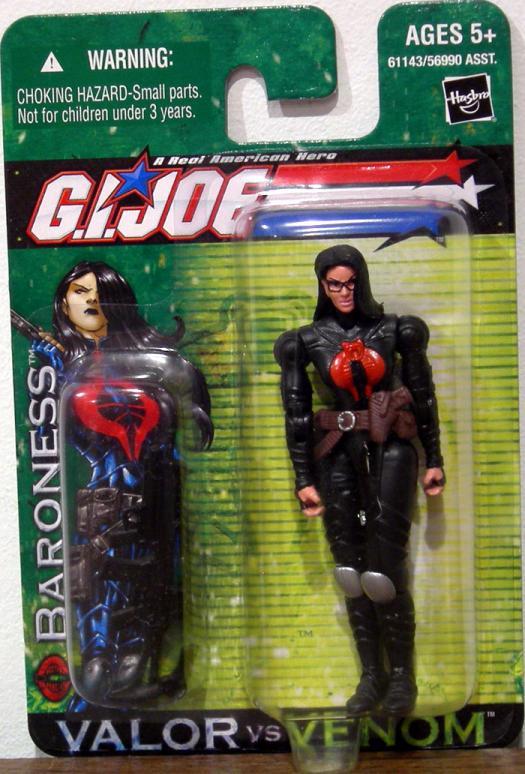 Baroness Valor vs Venom