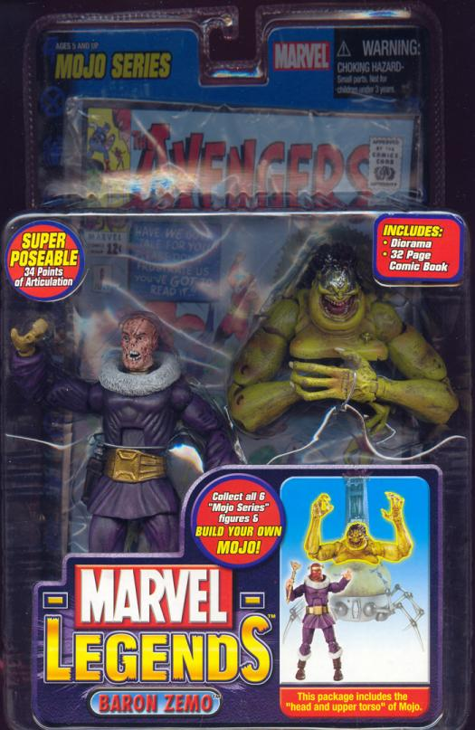 Baron Zemo Marvel Legends variant