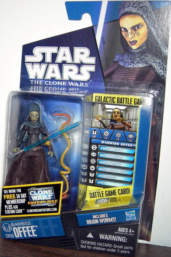 Barriss Offee CW50 Star Wars action figure