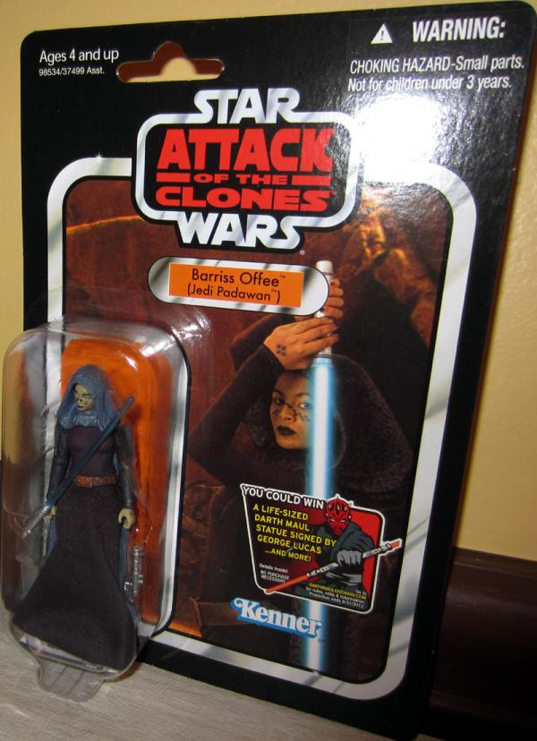 Barriss Offee Jedi Padawan Star Wars VC51 action figure