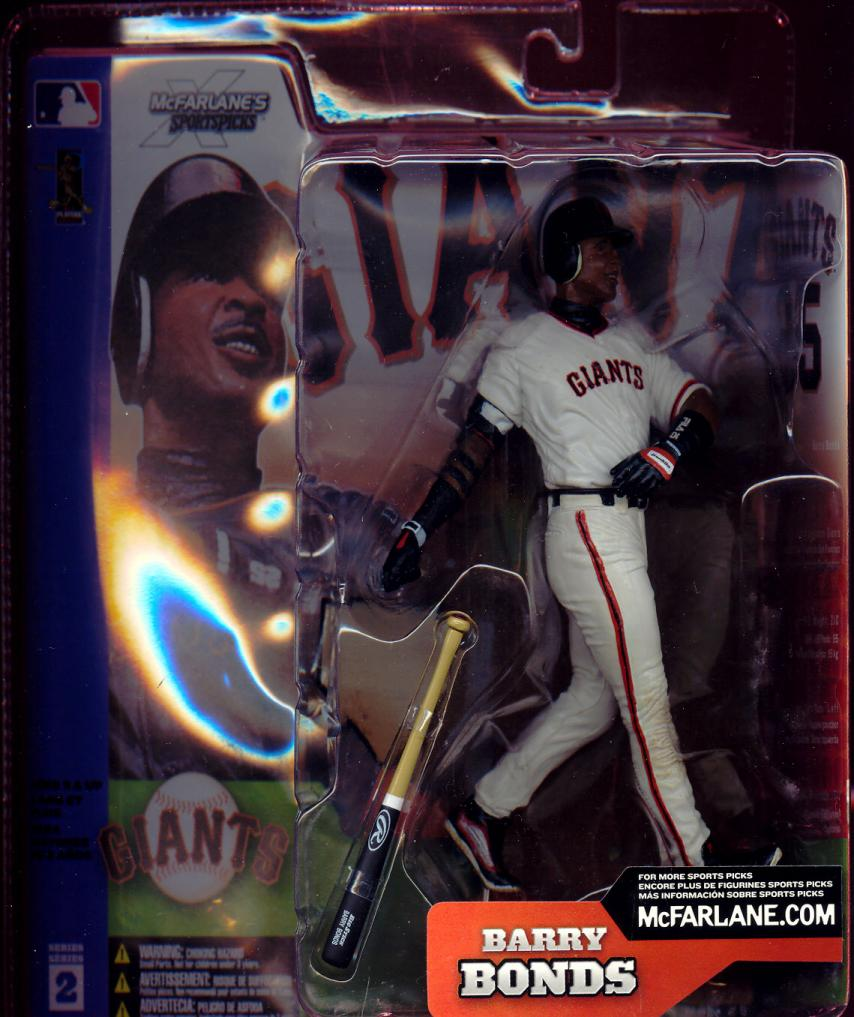 Barry Bonds white jersey
