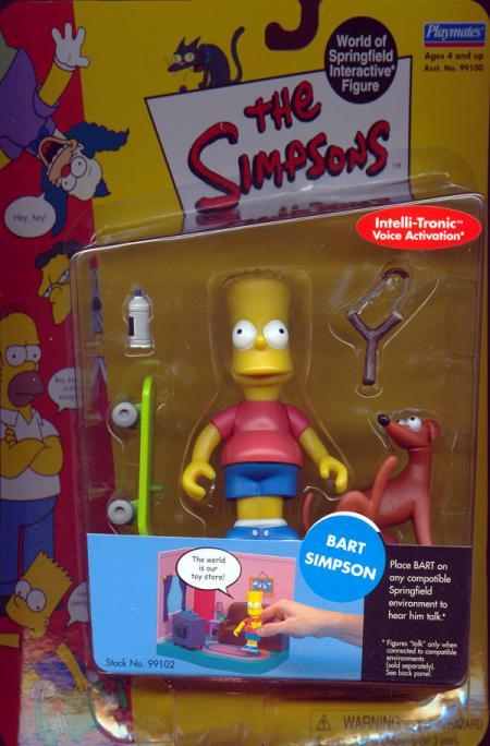 Bart Simpson action figure