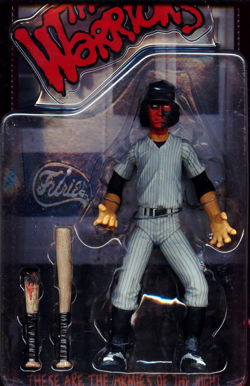 Baseball Fury red black face