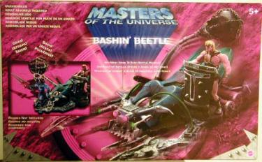 Bashin Beetle Vehicle He-Man Masters Universe