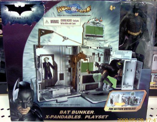 Bat Bunker X-Pandables Playset