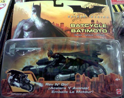 Batcycle Batman Begins