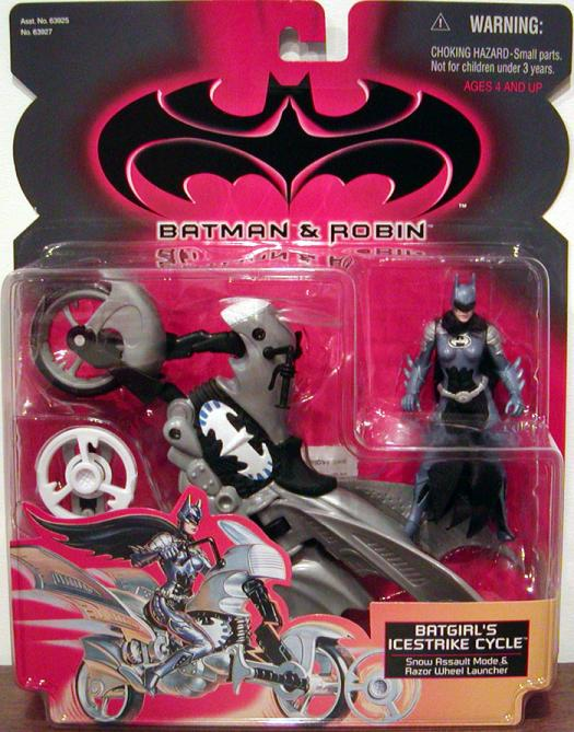 Batgirls Icestrike Cycle Vehicle Batman Robin Movie