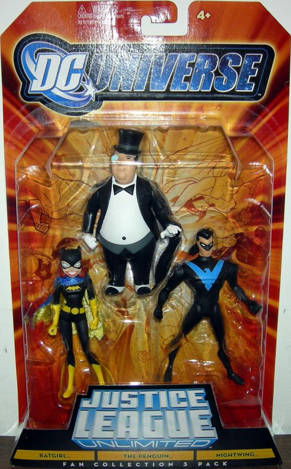 Batgirl, Penguin Nightwing Fan Collection 3 Pack