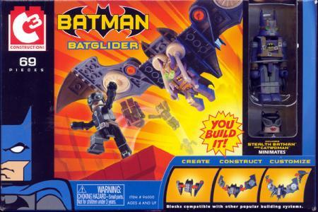 Batglider C3 Stealth Batman vs Catwoman Minimates