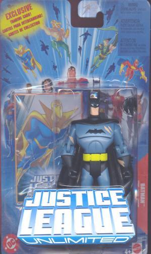 Batman Justice League Unlimited, battle damaged