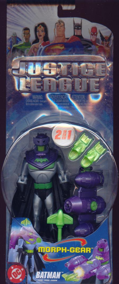Batman Morph-Gear Action Figure Justice League Mattel