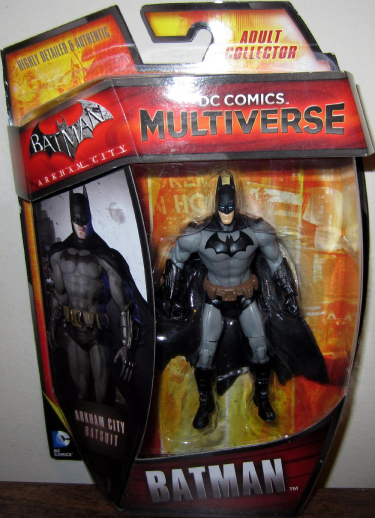 Batman DC Comics Multiverse Arkham City Batsuit action figure