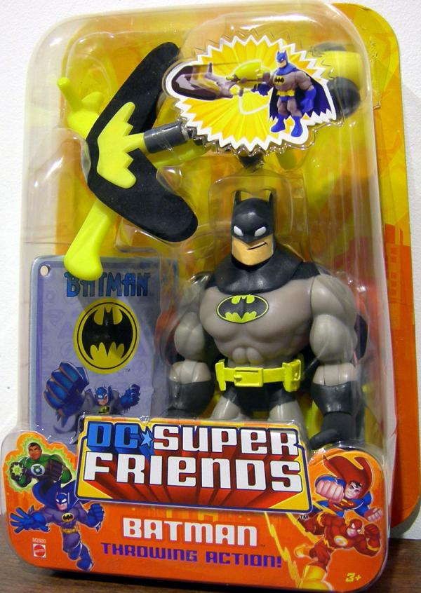 Batman DC Super Friends, black grey