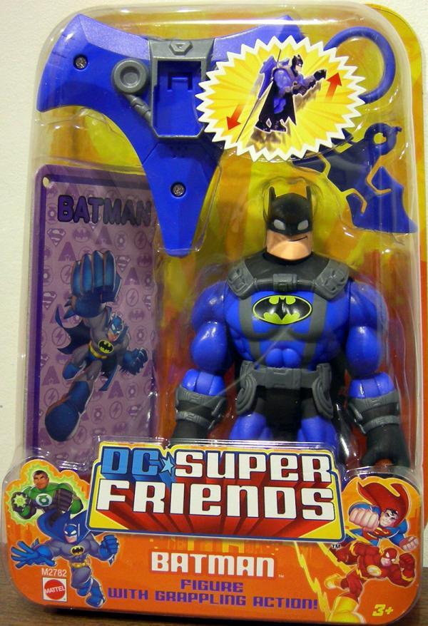 Batman grappling action DC Super Friends