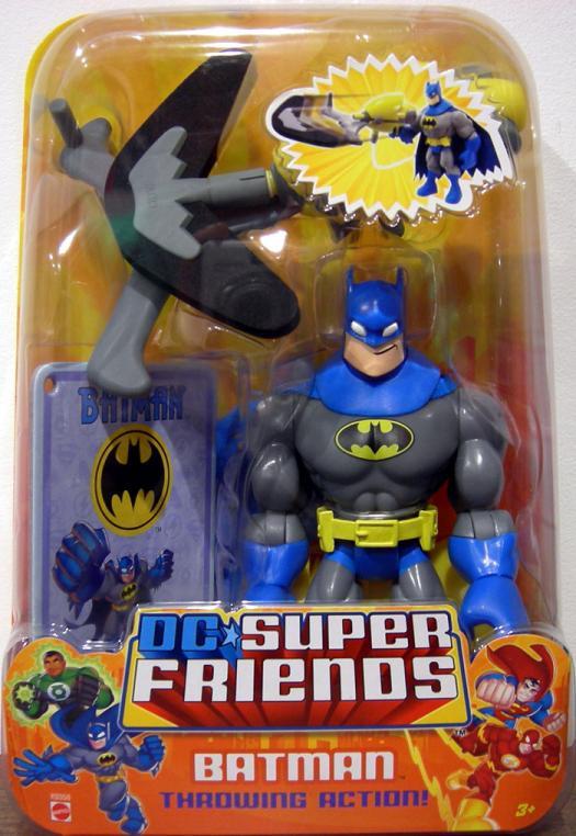 Batman DC Super Friends, blue grey