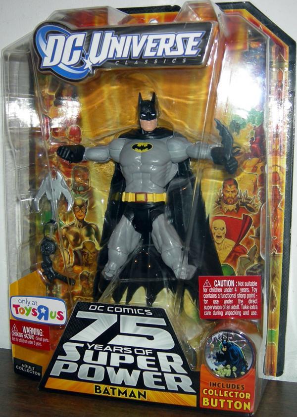 Batman DC Universe, All Star, yellow black Bat logo chest