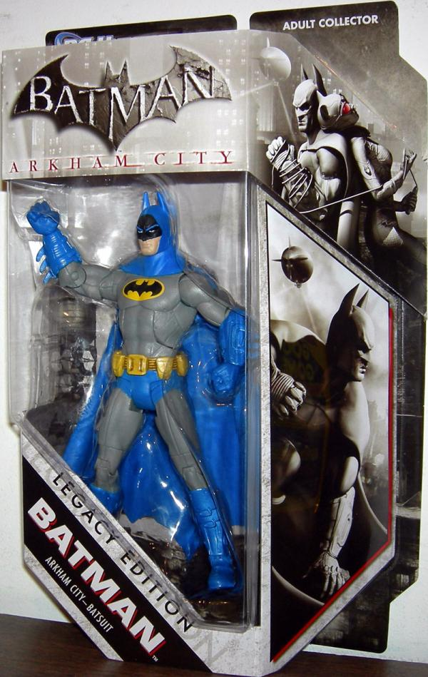 Batman Arkham City Batsuit DC Universe Legacy Edition action figure
