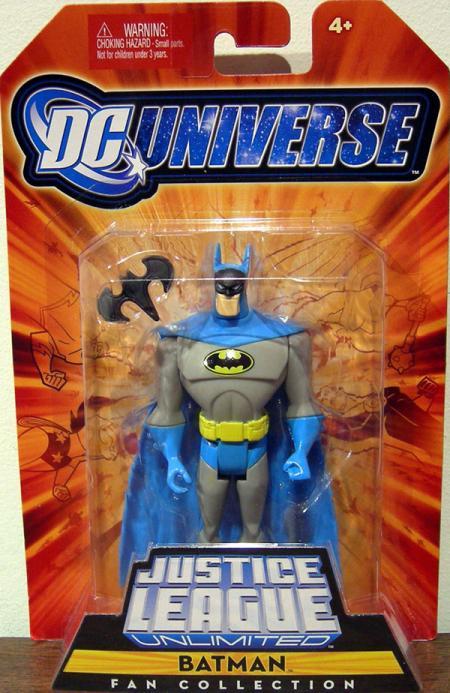 Batman Fan Collection Figure Light Blue Grey Gray Suit
